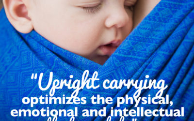 Babywearing: Promoting a healthy start for your baby.